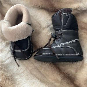Jack & Lili leather boots sz 3